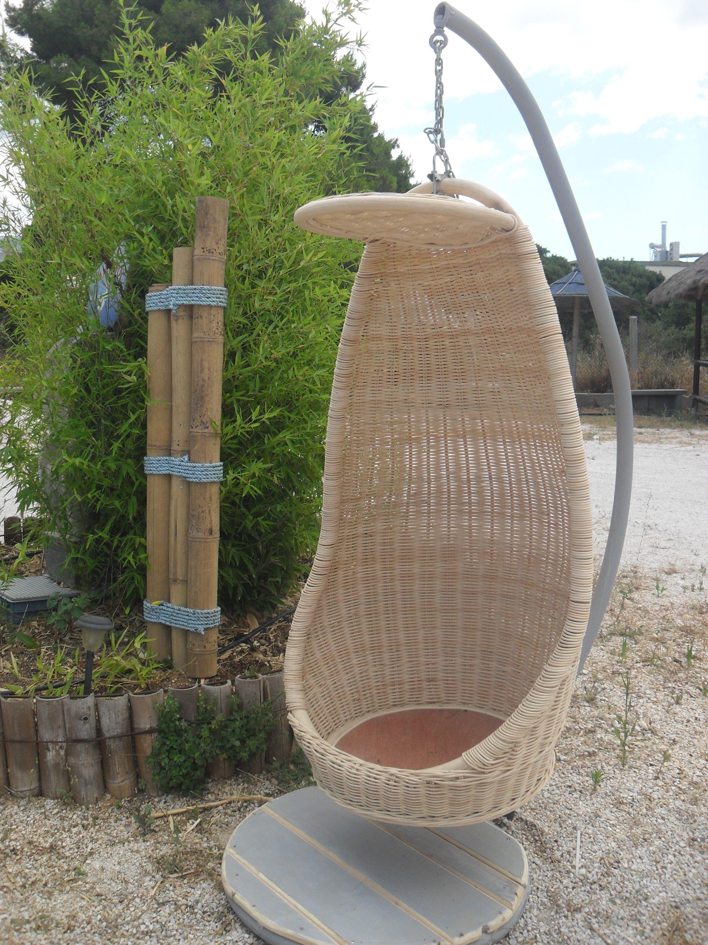 Bamboo swing garden furniture pinterest garden furniture