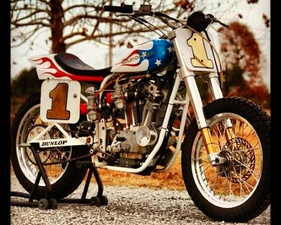 1973 Harley Davidson Xr 750 Motorcycle Cool Daredevil: Bubba Blackwell's XR-750 Jump Bike