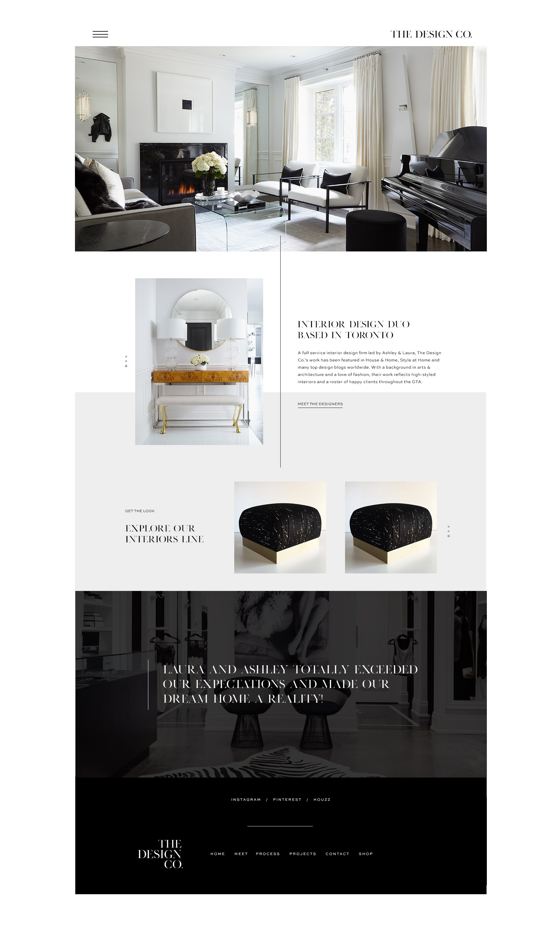 Launch The Design Co Interior Design Website Interior Design
