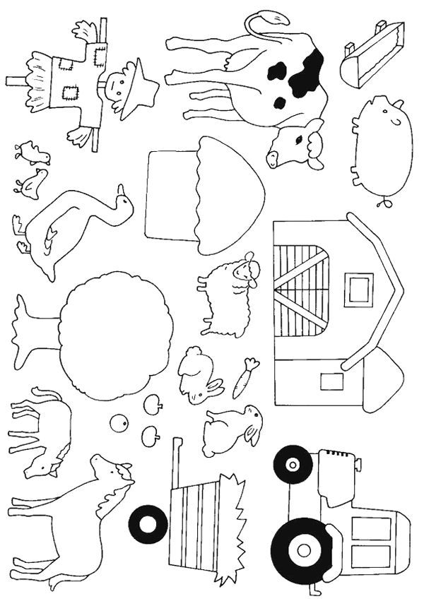 Cows 999 Coloring Pages Perfect For Quiet Book Pictures