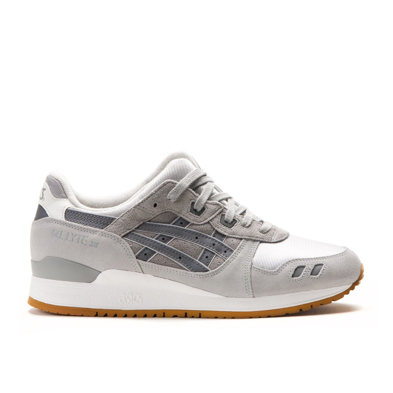asics gel lyte iii trainers with mesh detail