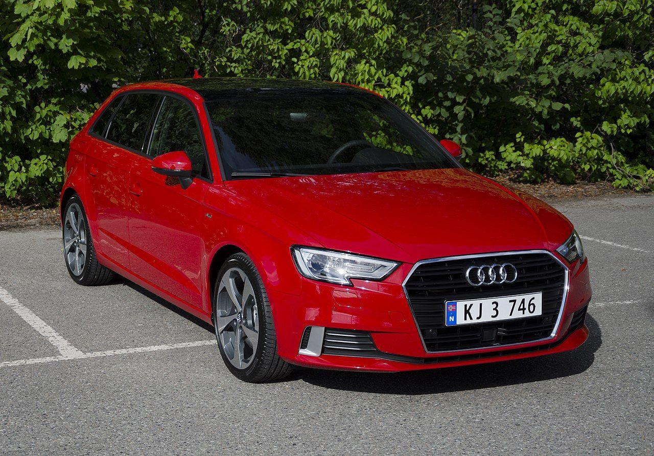 Audi A3 SportBack 2017 (front) Audi Wikipedia Audi