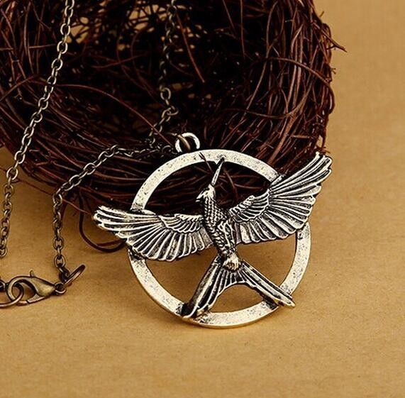 The hunger games mockingjay pendant necklace hunger games the hunger games mockingjay pendant necklace hunger games mockingjay mockingjay and hunger games mozeypictures Images