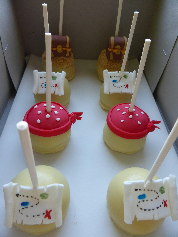 Cake Design Jake E Os Piratas : Cakepops para tema de Jake e os Piratas da Terra do Nunca ...