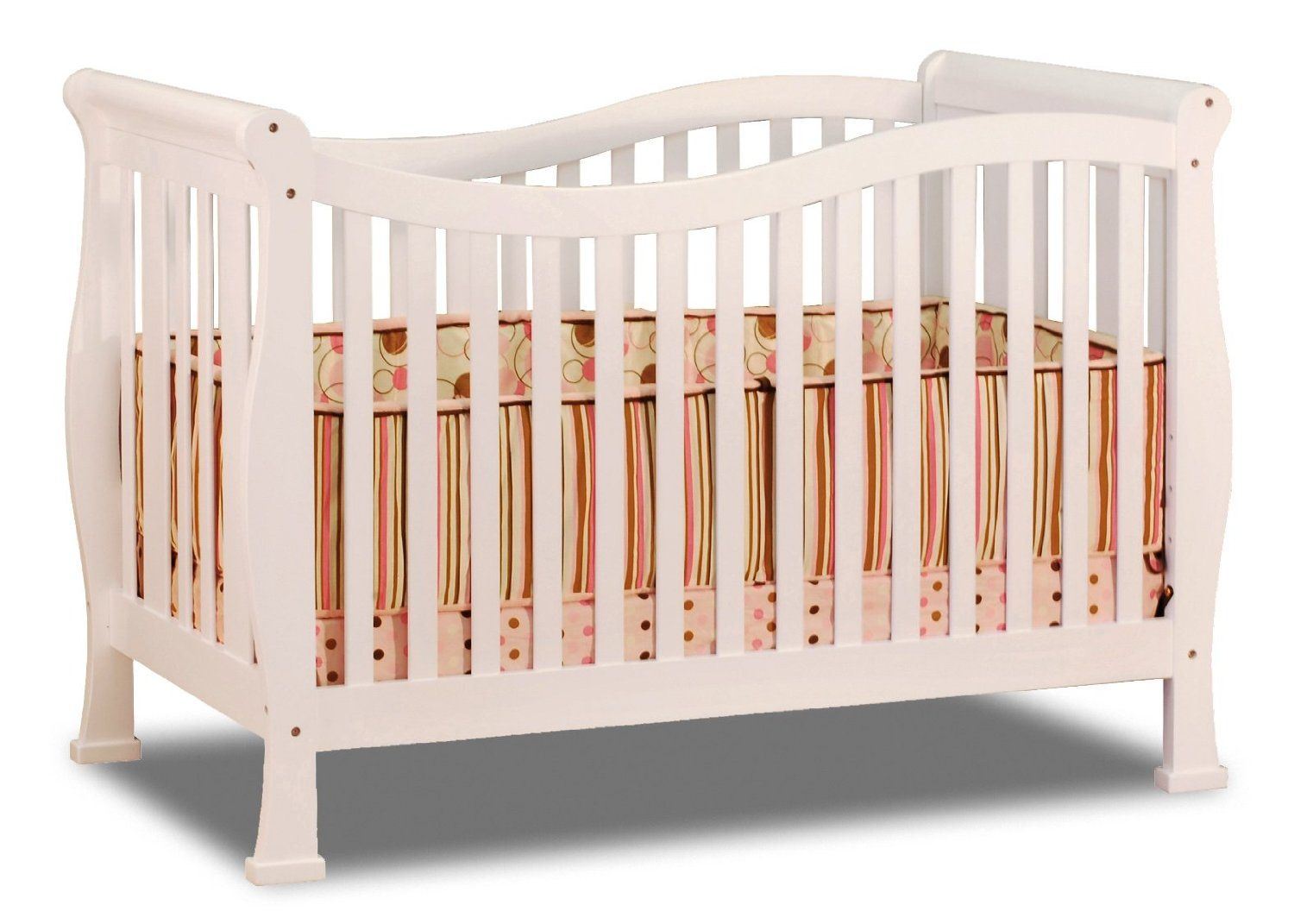 Athena Nadia 3 in 1 Crib with Toddler Rail Cribs