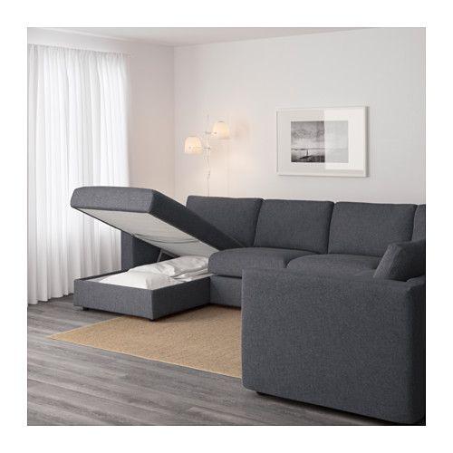 Leather Sofas IKEA VIMLE corner sofa seat year guarantee Read about the terms
