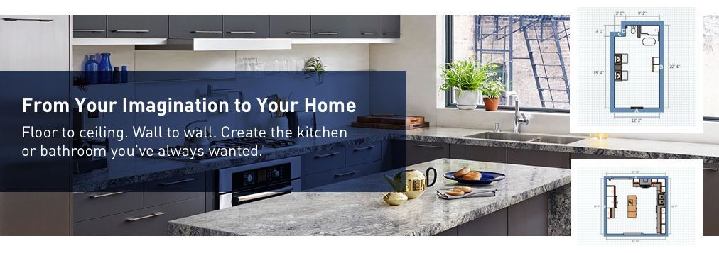Create The Kitchen Or Bathroom You Ve Always Wanted With The Virtual Room Designer At Lowe S Kitchen Remodel Design Kitchen Tools Design Online Kitchen Design