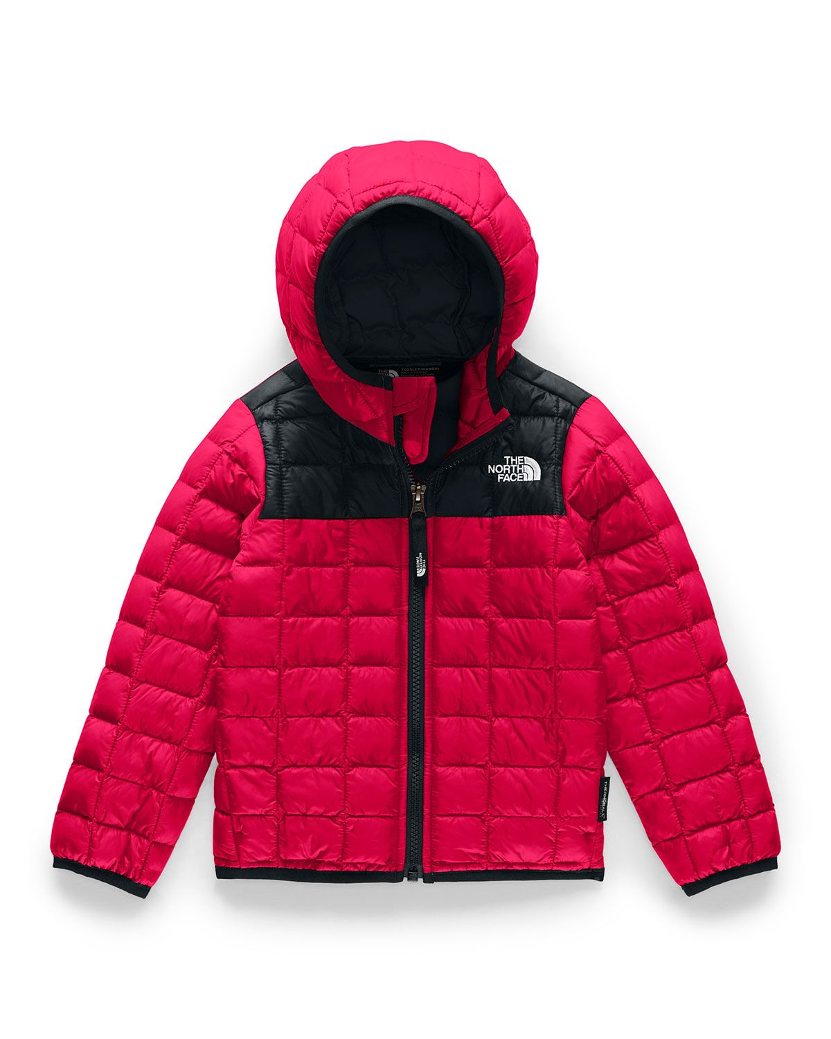 The North Face Unisex Thermoball Eco Jacket Little Kid In Tnf Red Modesens Youth Hoodies The North Face Hooded Jacket [ 1500 x 1200 Pixel ]