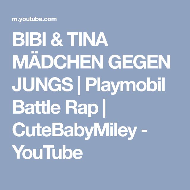 Bibi Tina Madchen Gegen Jungs Playmobil Battle Rap Cutebabymiley Youtube Battle Rap Rap Madchen Gegen Jungs