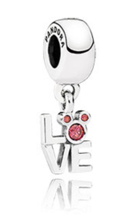 Disney Pandora Exclusive Love Mickey Mouse Sterling Silver