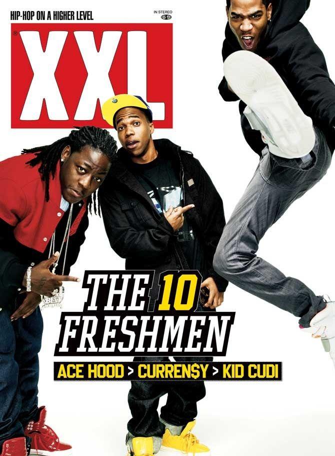 XXL Freshman Class of 2009 Ace Hood, Curren$y and Kid Cudi Pop
