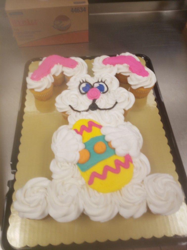 Cupcake News Cupcake Charlie S With Images Easter Bunny Cake