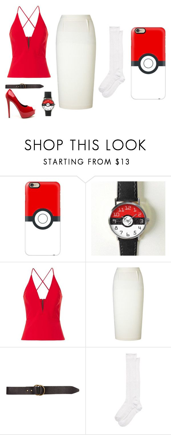 """""""Pokemon Go"""" by lauren53103 on Polyvore featuring Casetify, Michelle Mason, Roland Mouret, Billabong, Kate Spade, Costume and PokemonGO"""