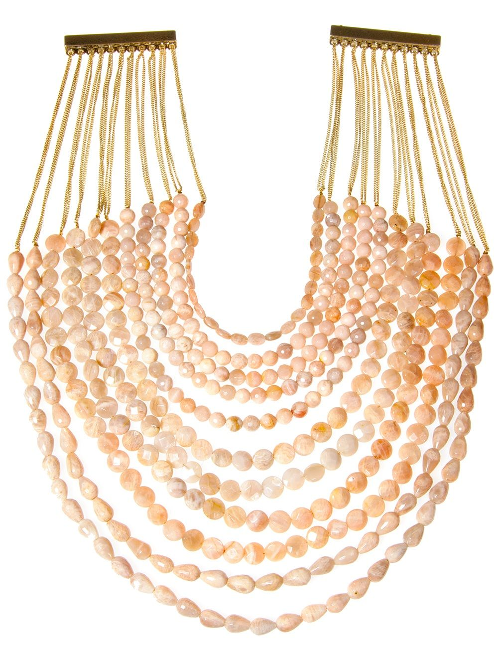 Rosantica Chain And Bead Necklace