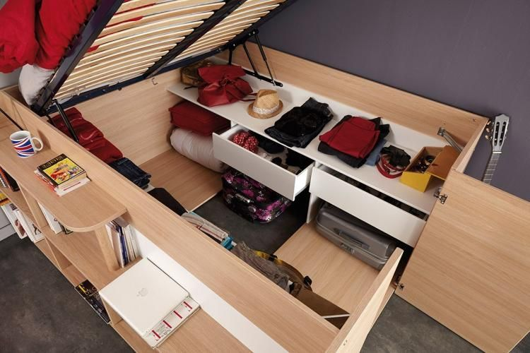 Parisot Space Up Bed A Pull Up Bed That Turns Into A Closet Full