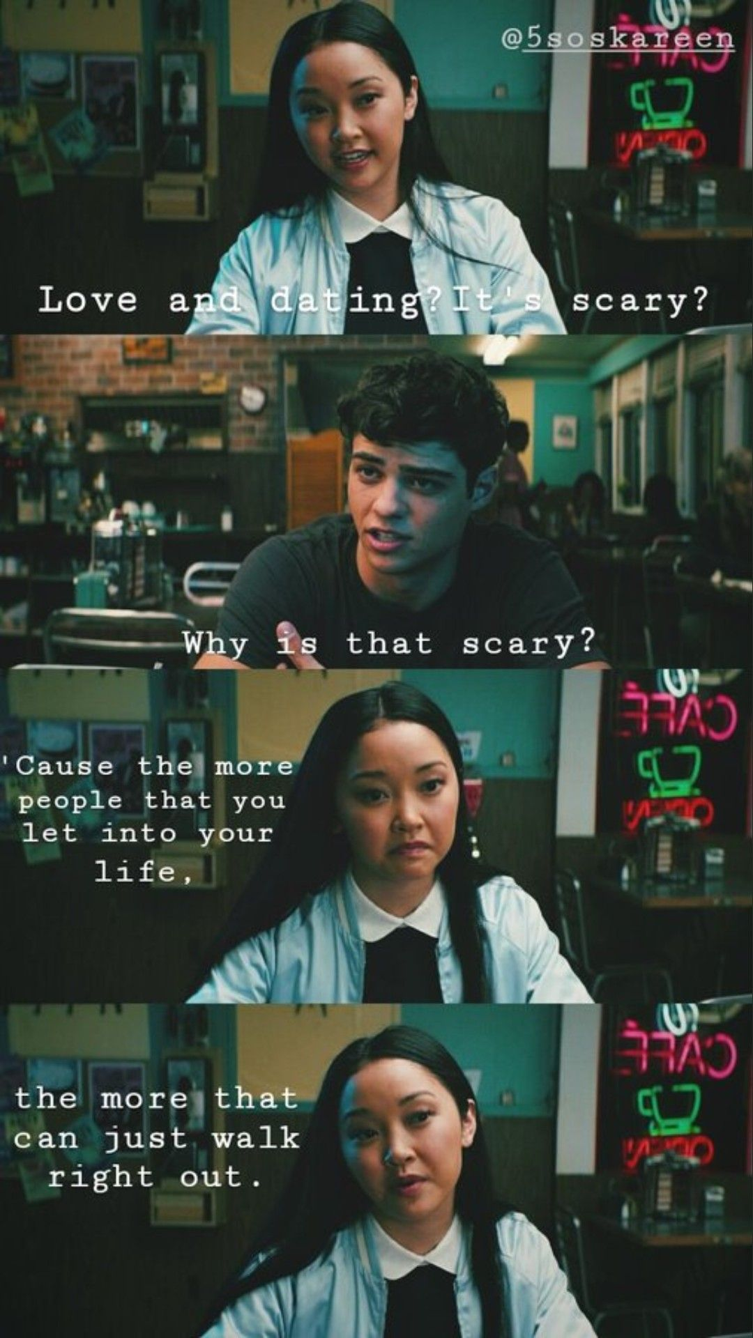 To All The I Ve Loved Before With Images Favorite Movie Quotes