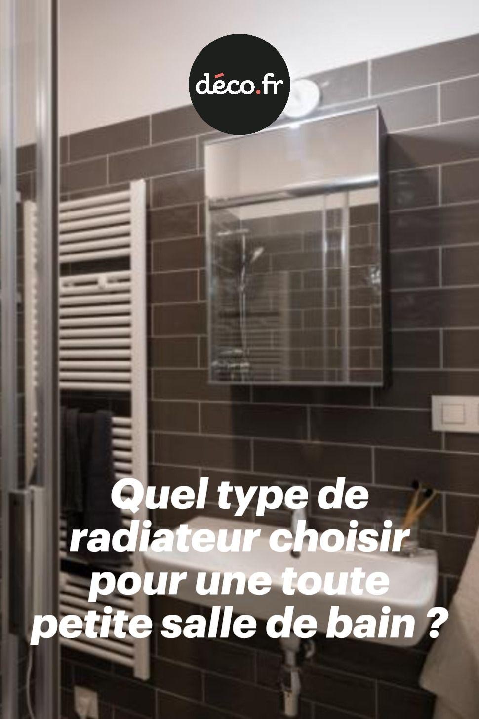 Quel Type De Radiateur Choisir Pour Une Toute Petite Salle De Bain Petite Salle De Bain Petite Salle Salle De Bain