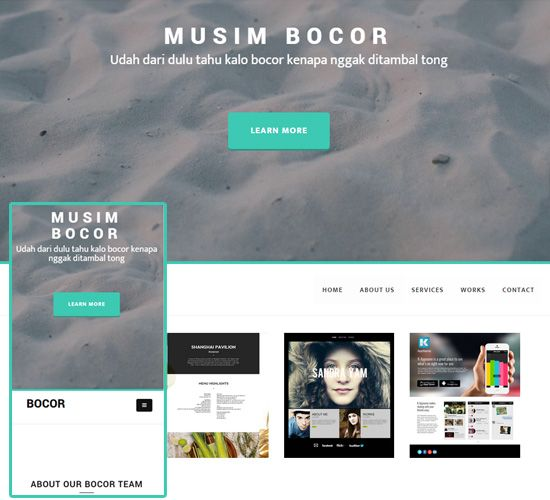 Business site templates free website templates sample pinterest business site templates friedricerecipe Gallery