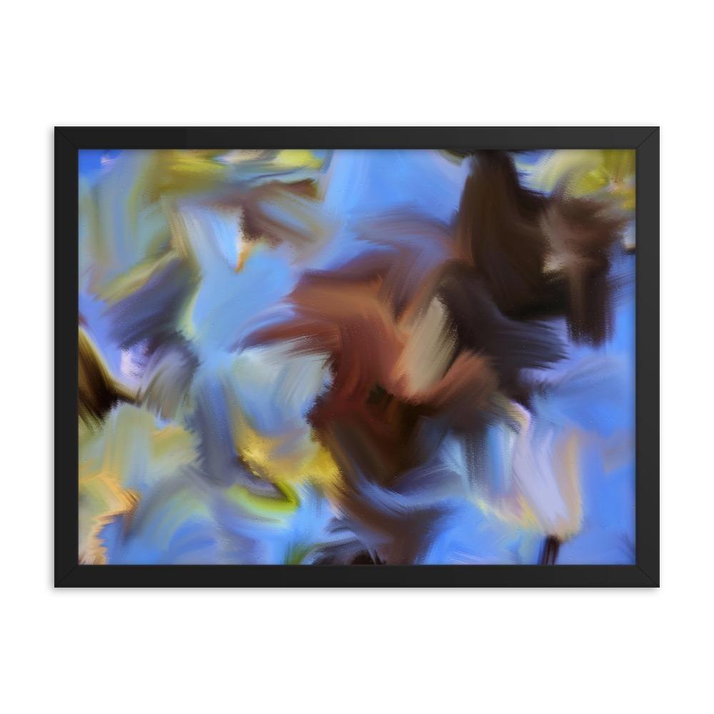Spring Twigs Art PrintEnhanced Matte Print / Frame / 24×18 #twigart