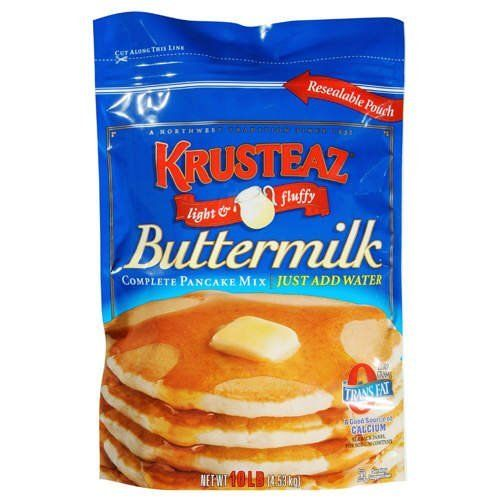 Krusteaz Buttermilk Pancake Mix 10 Lb Case Pack Of 4 Details Can Be Found By Clicking On The Buttermilk Pancake Mix Krusteaz Waffle Recipe Gourmet Recipes