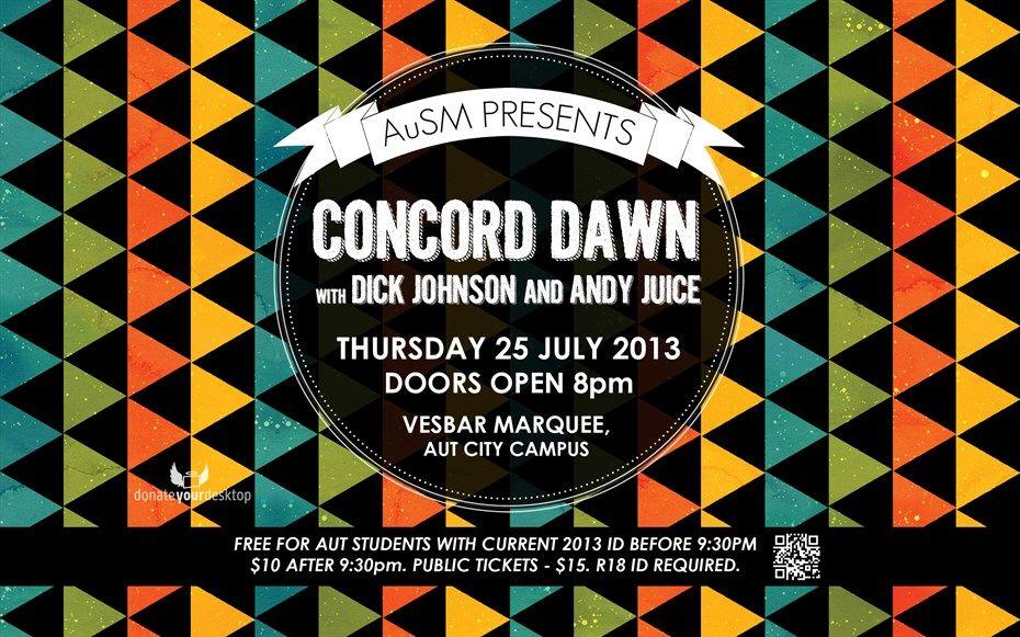 AuSM presents Concord Dawn | AuSM