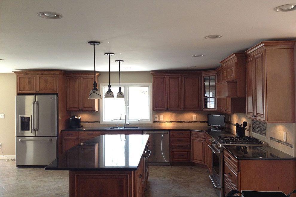 36 fabulous black granite countertops design ideas in 2020 black granite countertops granite on kitchen decor black countertop id=23642