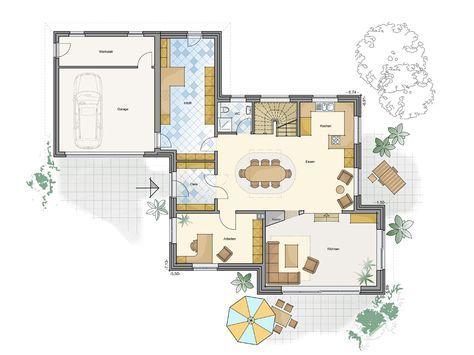 Schlüsselfertige Architektenhäuser massiv gebaut · GfG