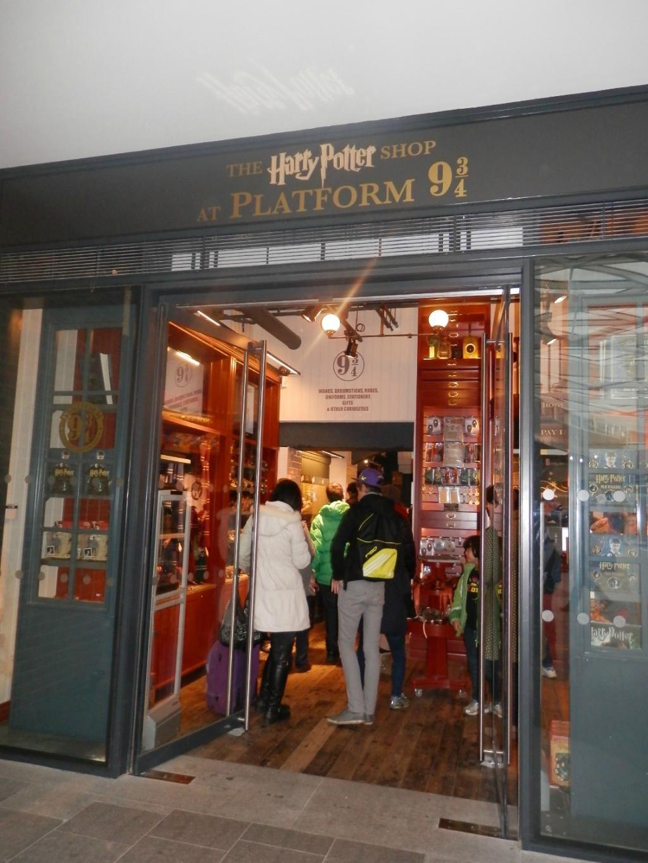 Harry Potter Shop At Platform 9 3 4 Harry Potter Shop Trip Advisor Platform