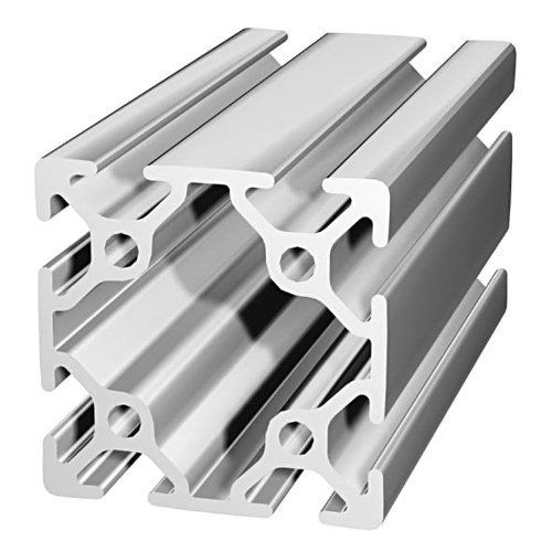 80 20 25 Series 25 5050 50mm X 50mm T Slotted Extrusion X 2440mm By 80 20 Inc 55 97 80 20 25 Series 50mm Home Hardware Aluminum Extrusion Safety Accessories