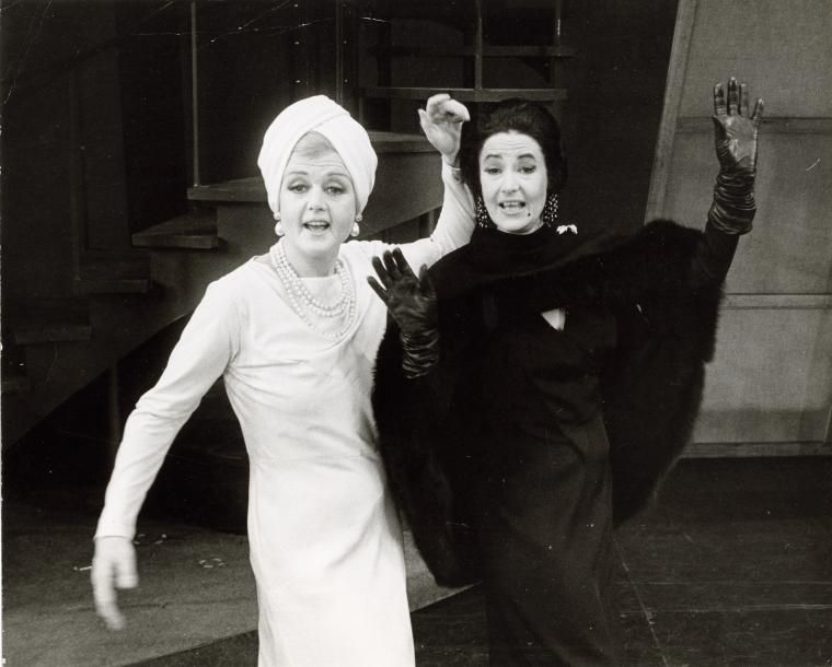 Angela Lansbury and Bea Arthur...