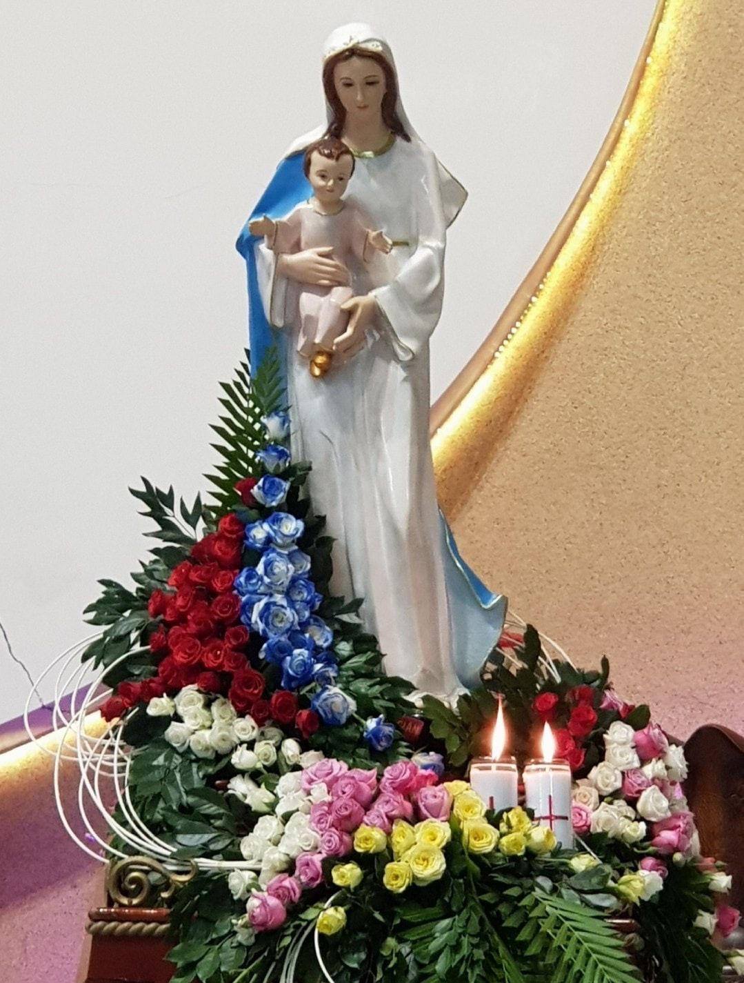 Blessed mother mary image by Maryann Mixon on Blessed