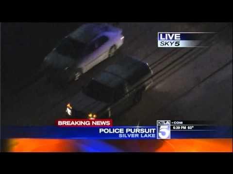 Southern California Police Chase Chevy Colorado Through Silver Lake Ktla Chevy Colorado Police Silver Lake