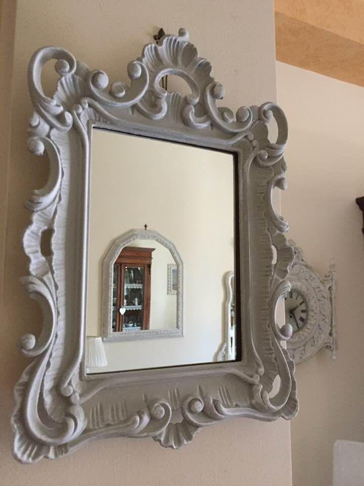 Grazioso specchio Vintage/Barocco convertito in stile