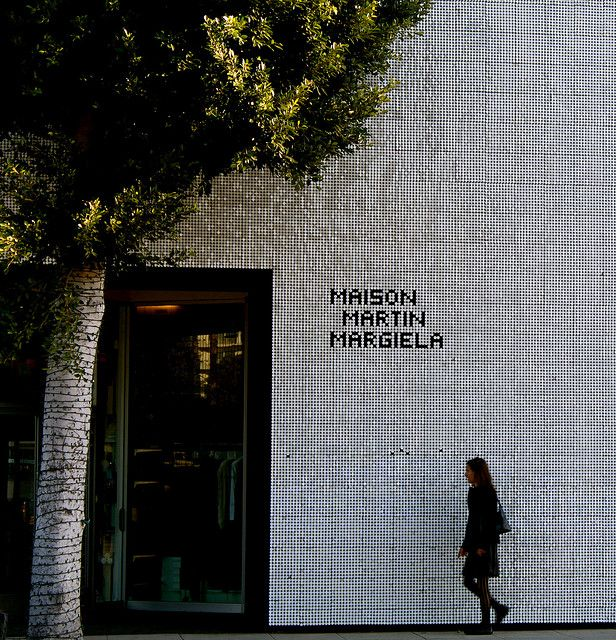Exterior Maison Martin Margiela Los Angeles Retail Architecture Store Design Interior Environmental Design