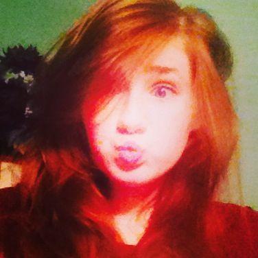Cross eye and crazy hair!