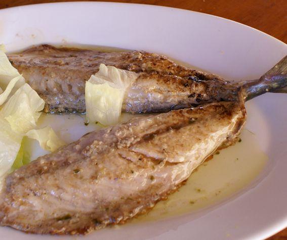 Caballa Plancha Chiringuito El Madrileño La Antilla Lepe Huelva Gastronomia Comida Pescados Y Mariscos