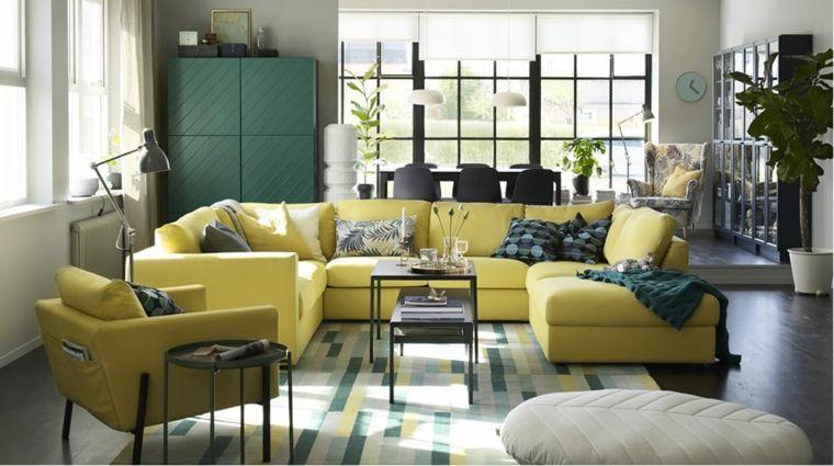 Muebles de salón Ikea - ideas refrescantes que te inspirarán ...