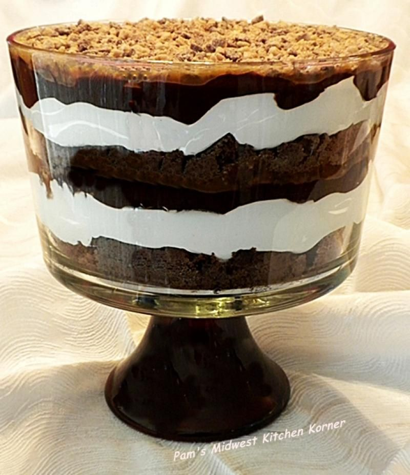 Easy Chocolate Trifle Recipe from Divine Desserts
