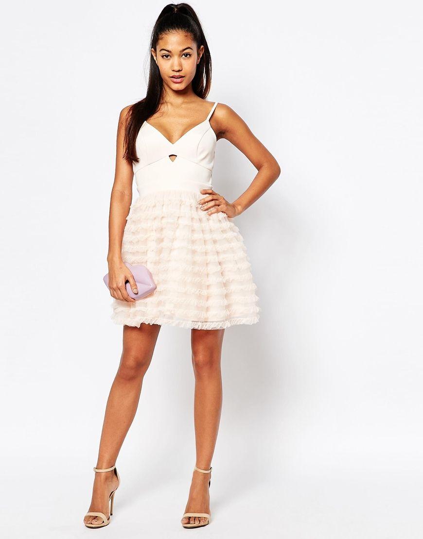 Image 4 Of Ariana Grande For Lipsy Rara Mini Prom Dress Ariana
