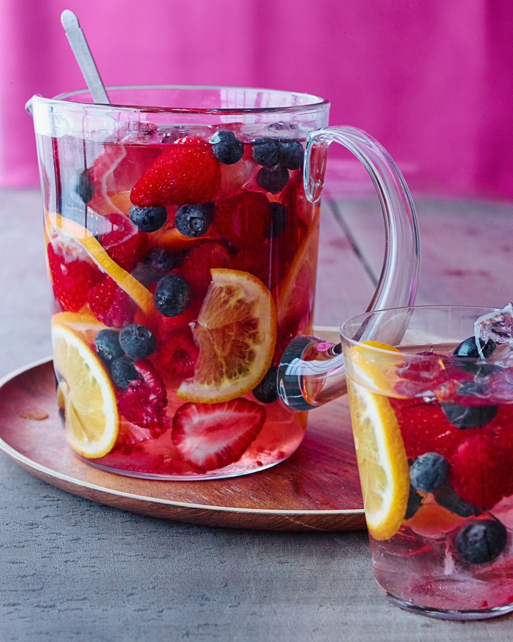 Sparkling Berry Sangria Recipe Berry Sangria Drink Wine Day Yummy Drinks