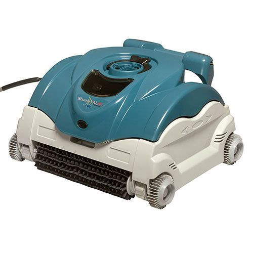 Sharkvac Xl Cleans Pool Floor And Walls With Computer Efficiency Its Sleek Low Profile De Pool Cleaning Automatic Pool Cleaner