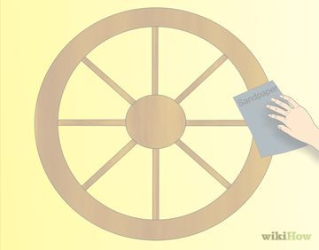 How to build a Wagon wheel