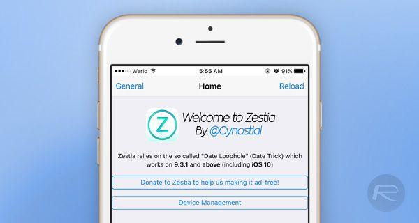 How to install Cydia alternative Zestia on iOS without
