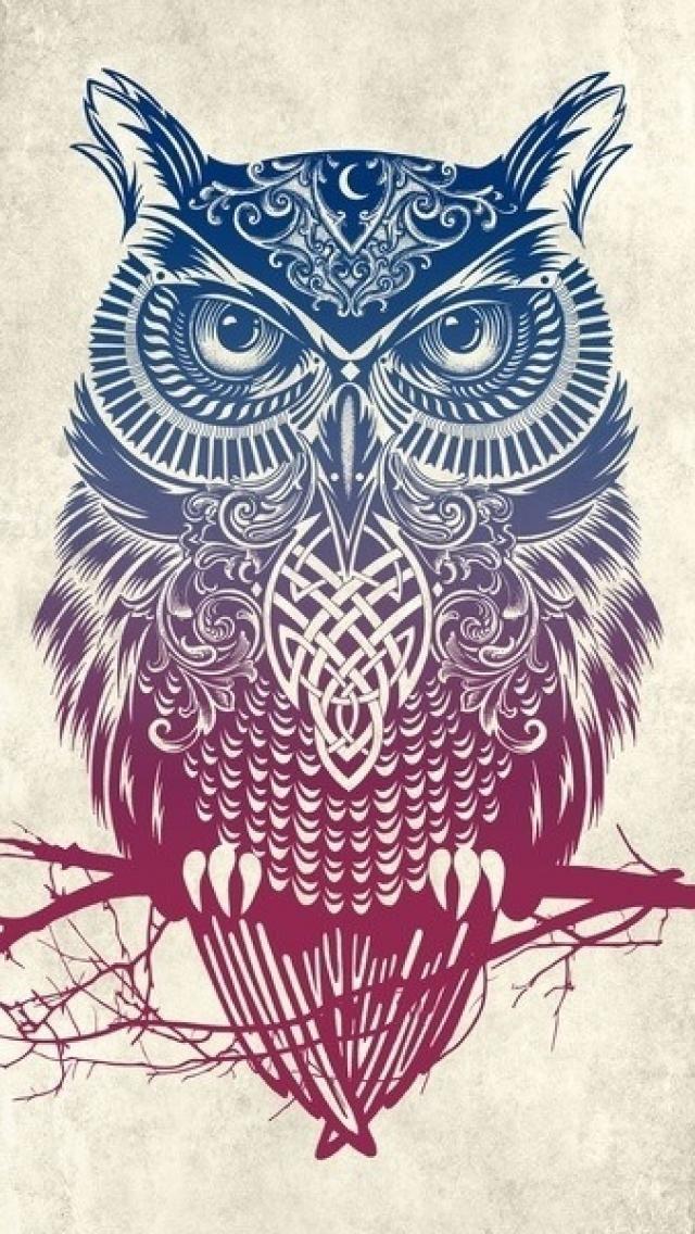 tribal owl wallpaper for iphone 5 21104 wallpaper
