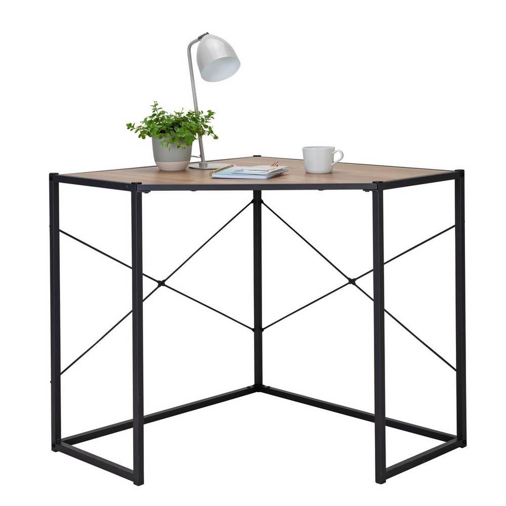 buy argos home loft living corner office desk  light oak