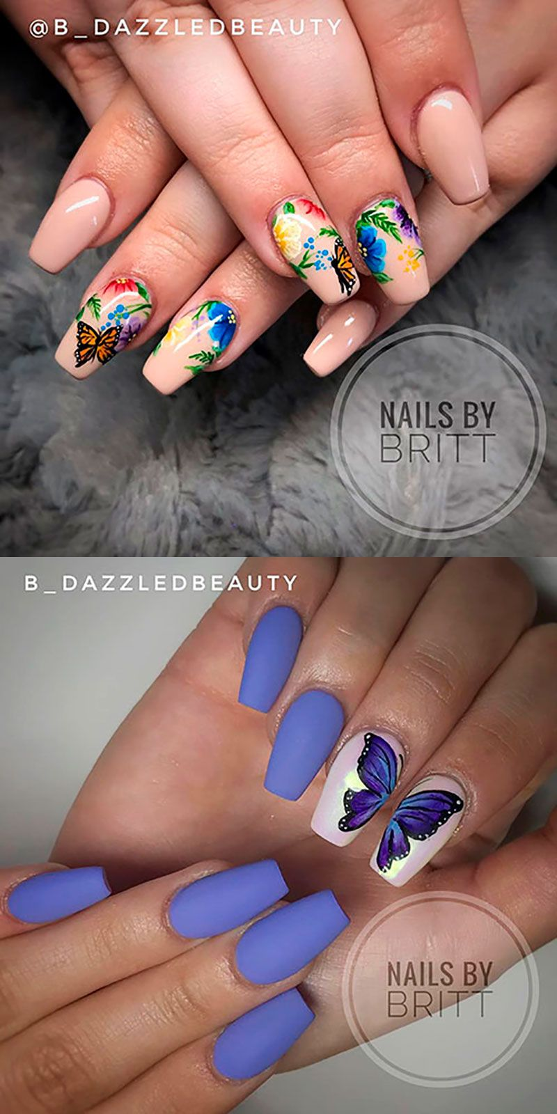 Best Nails Ideas For Spring 2019 Gel Nails Stylish Nails