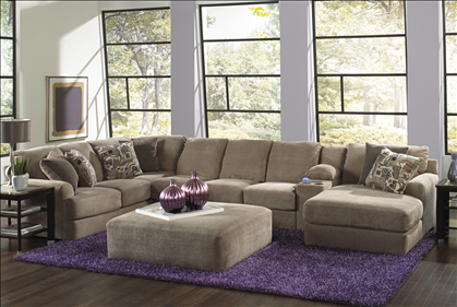 artemis ii 5pc microfiber sectional sofa sectional sofas raymour and flanigan furniture basement favorites pinterest artemis basements and