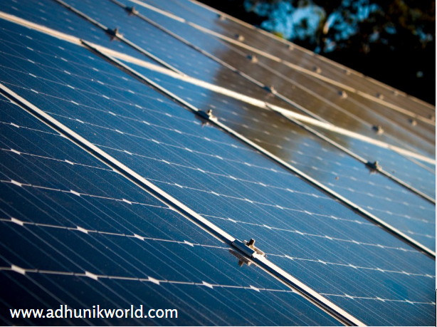 ADHUNIK Energy Group Is Actively Involved In The Field Of Solar Revolution Country