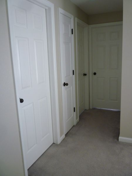 Our Doors Get Love Handled White Interior Doors Black Interior Doors White Doors