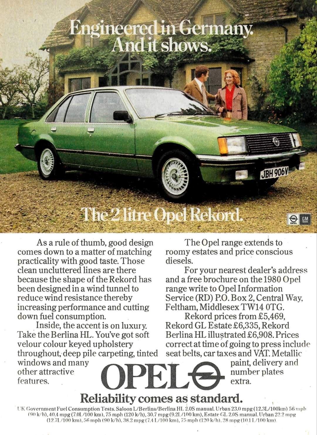 Pin Von Henrik Lassen Auf Opel Reklame Alte Werbung